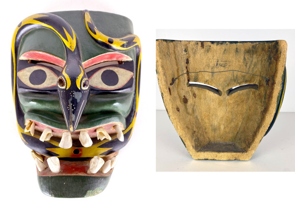 5059 - Mexican Hand Carved Mask