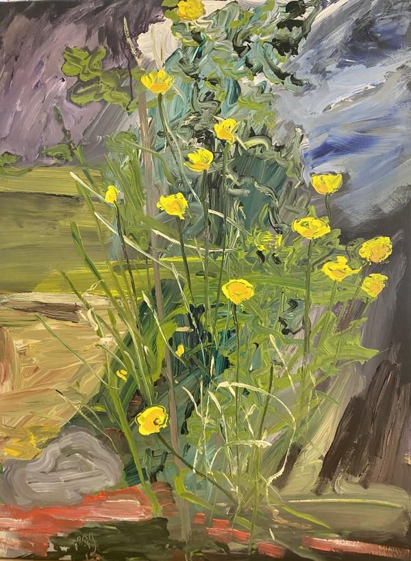 1068 - UNTITLED (Spring flowers) by Matt Lyon