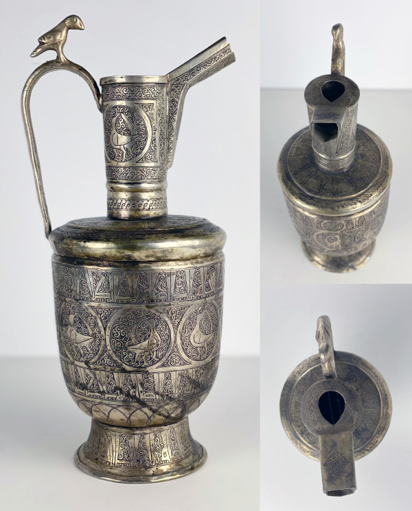 5089 - Persian Silver Pitcher