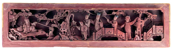 5136 - Asian Wood Carving