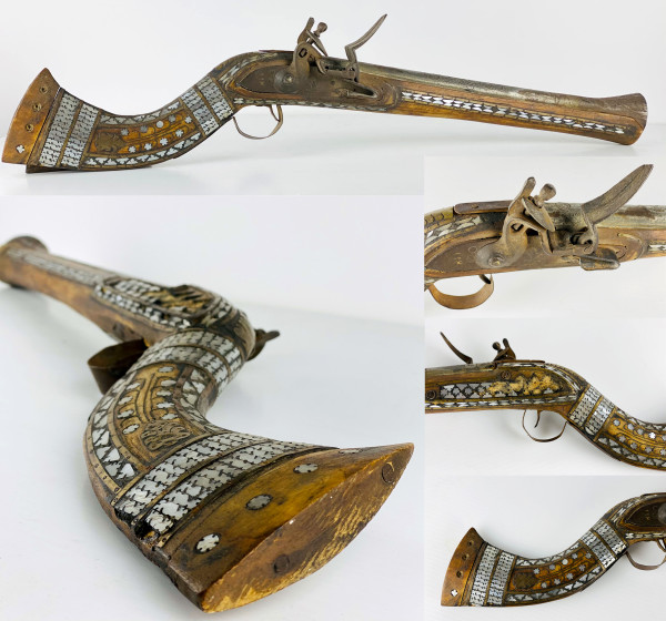 5174 - Antique Persian Musket