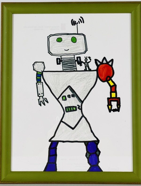 3511  Reggie Robot by FamJam Studios