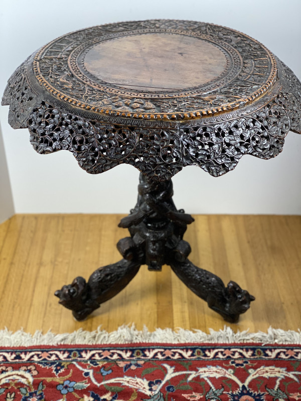 5100 - Ornate Burmese table