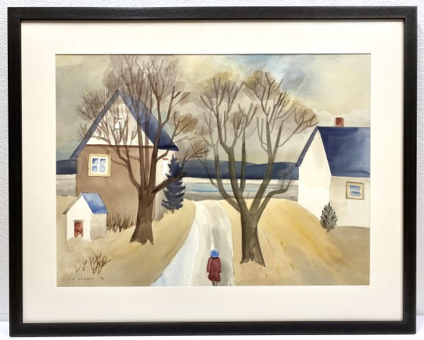 2513 - Path to the Inlet by Colin Graham ( 1915 - 2010)