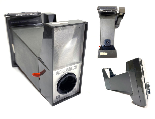 9001 - Big Shot, Polaroid Portrait Land Camera