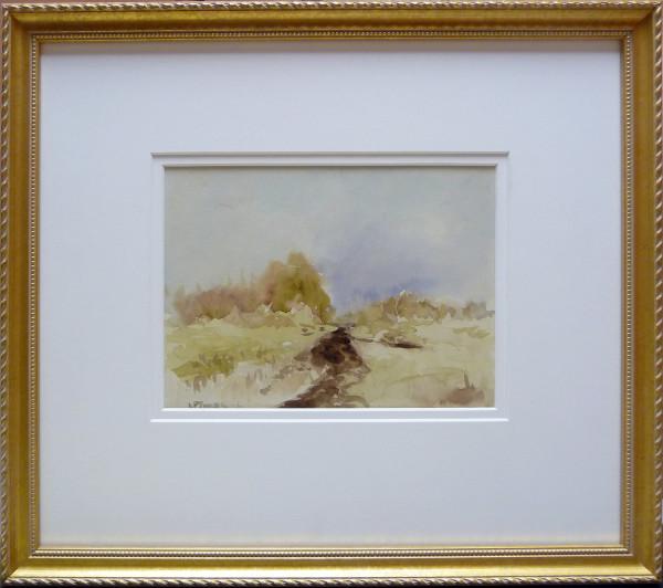 2301 - A Rainy Morning Edmonton, 1928 by Llewellyn Petley-Jones (1908-1986)