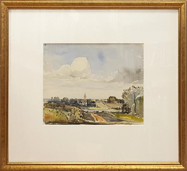 2304 - An Old Church 30 miles southwest of Edmonton by Llewellyn Petley-Jones (1908-1986)