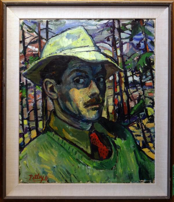 0313 - Banff Self Portrait by Llewellyn Petley-Jones (1908-1986)