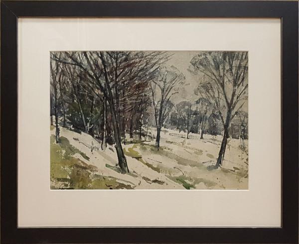 2424 - Blue Forest by Llewellyn Petley-Jones (1908-1986)
