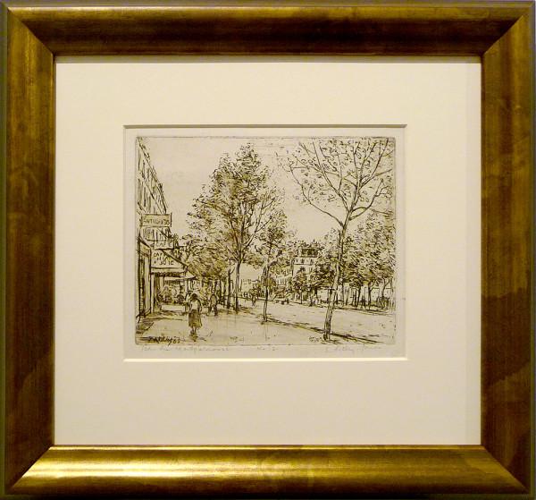2428 - Boulevard du Montparnasse #2 by Llewellyn Petley-Jones (1908-1986)