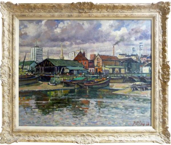 0213 - Brentford, London 1966 by Llewellyn Petley-Jones (1908-1986)