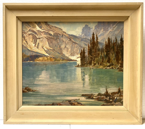 0394 - Cerulean Lake ( BC) by A. C. LEIGHTON (1901-1965)