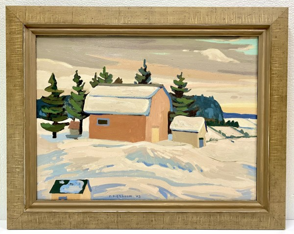 0369 - Peninsula Winter by Colin Graham ( 1915 - 2010)