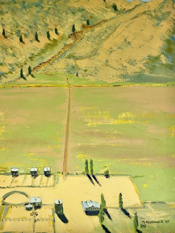 0135 - Homestead on the Night Hawk Road by Michael Kluckner