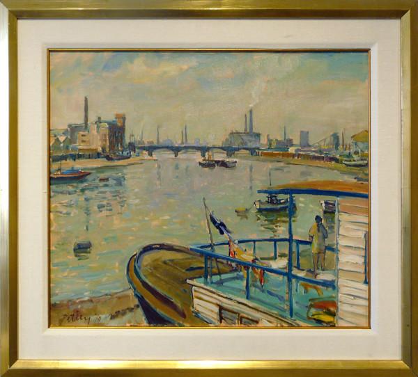0215 - Chelsea Reach by Llewellyn Petley-Jones (1908-1986)
