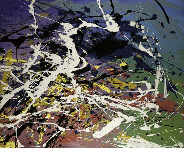 0412 - Coloured Net by Matt Petley-Jones