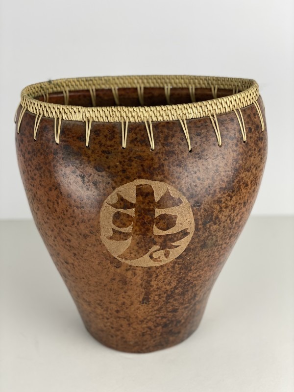 5096 - Wooden Vessel