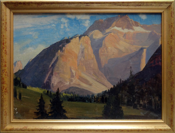 0308 -  Mountain Scene