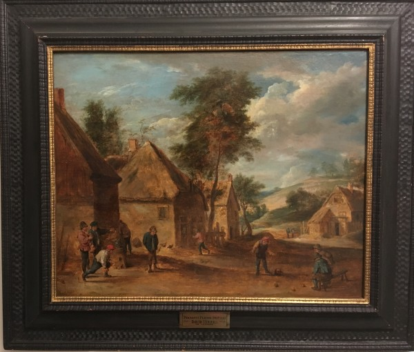 0270 - Peasants Playing Skittles by David Teniers the Younger (1610-1690)