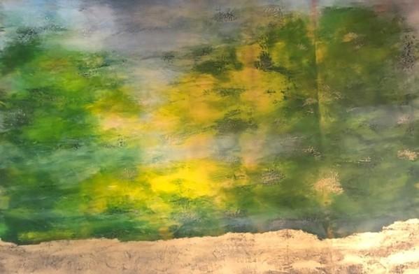 0659 - Bow River Reflections by Debra Van Tuinen