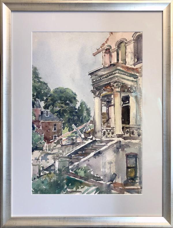 2259 - Demolition Queens Rd. Richmond 1963 by Llewellyn Petley-Jones (1908-1986)