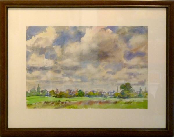 2433 - Distant View of Richmond by Llewellyn Petley-Jones (1908-1986)