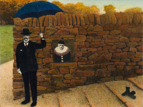 At Blinders Wall, Earlier by Duncan Regehr