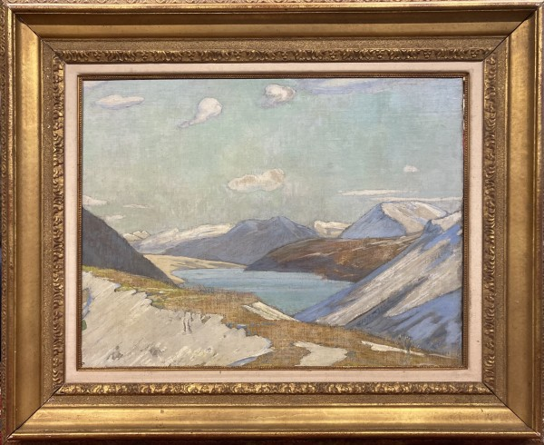 0616 - Lake in the Mountains by Clarence Gagnon (1881-1942)