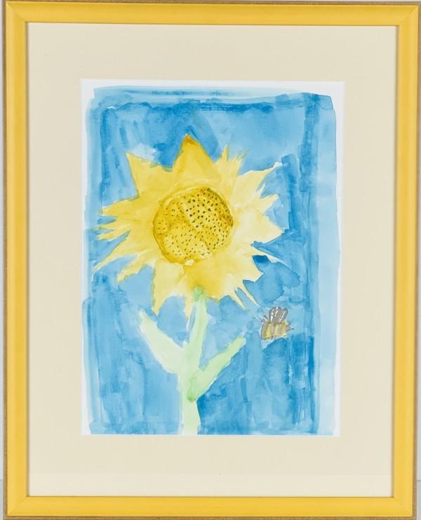 3508 Sunflower & Bee by FamJam Studios