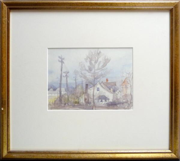 2435 - Early Edmonton House by Llewellyn Petley-Jones (1908-1986)