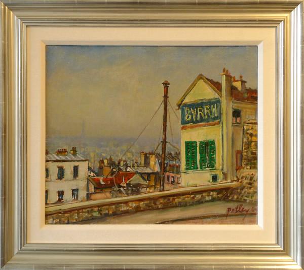 0218 - Early Morning Montmartre by Llewellyn Petley-Jones (1908-1986)