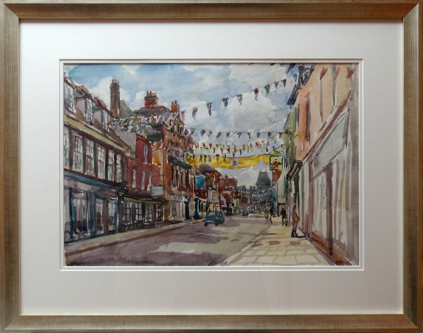 2754 - Eaton High Street, May 1977 by Llewellyn Petley-Jones (1908-1986)