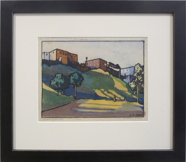 2219 - Souvenir of Edmonton by Llewellyn Petley-Jones (1908-1986)