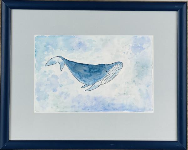 3512 Blue Water Whale by FamJam Studios