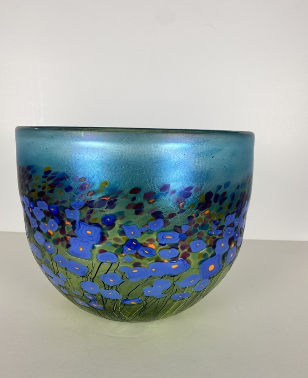 5072 - Hand Blown Glass Bowl