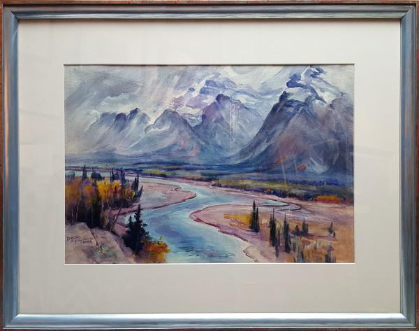 2969 - Mountain Stream by Bessie Fry Symons Fry, B. A. (1884 - 1976)
