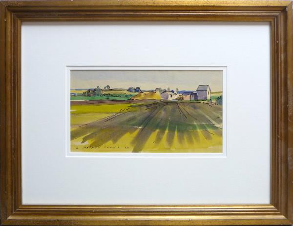 2329 - Farmland Shadows by Llewellyn Petley-Jones (1908-1986)