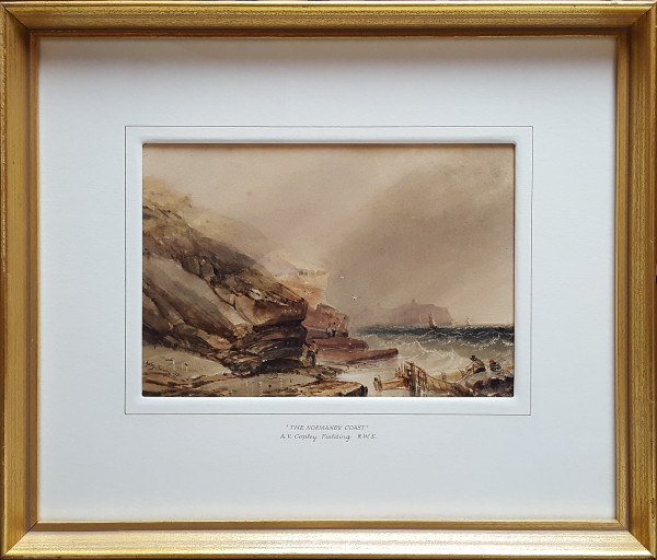 2968 - The Normandy Coast by A.V. Copley Fielding R.W.S. (1787-1855)