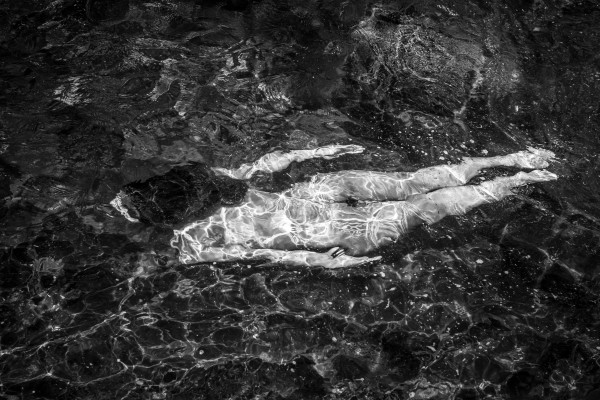 2599 - Flight, Nude in the Landscape Series by Vince Hemingson