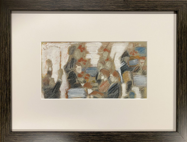 2788  - Orchestra by Lillian FREIMAN ( 1908-1986)