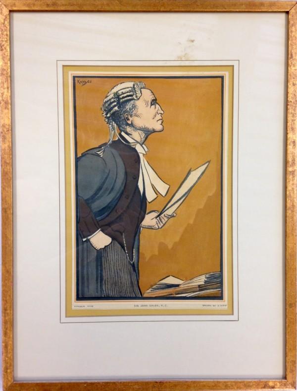 3057 - Sir John Simon, K.C. by Edmond Kapp (1890-1978)