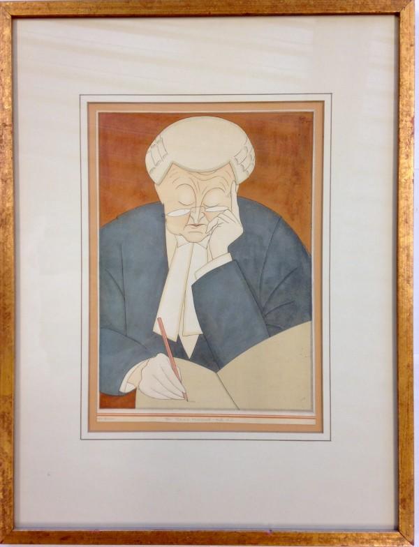 3055 - Sir Edward Marshall-Hall, K.C. by Edmond Kapp (1890-1978)