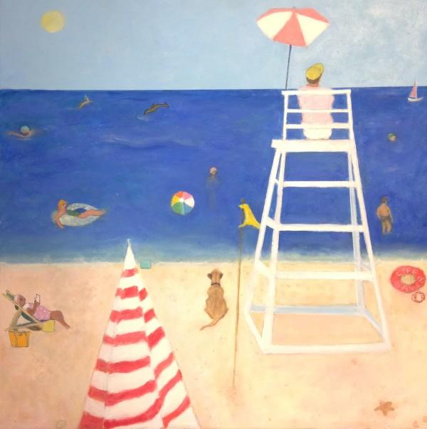 0915 - Long Island Beach, NY (Re. Oscar Wild) by Marie H Becker