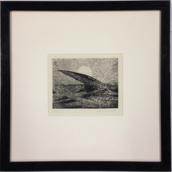 2631 - Abstract Etching by Mimi Parent (1924 - 2005)