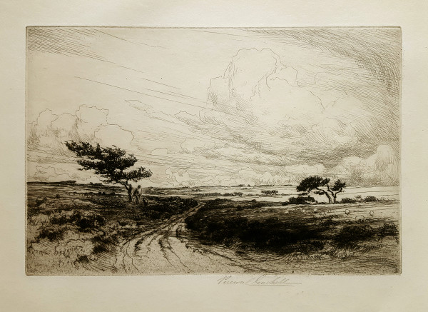 2619 - Wind in the Heath by George Percival Gaskell (1869-1934)