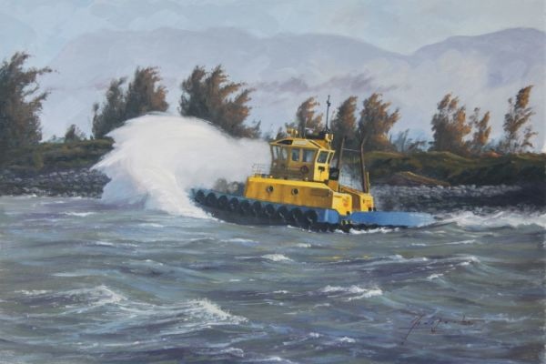 1278 - High Wind In The Fraser by John Horton (FCA, CSMA)