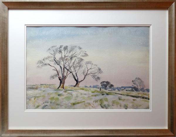 2756 - Hoar Frost, Richmond Park 1965 by Llewellyn Petley-Jones (1908-1986)