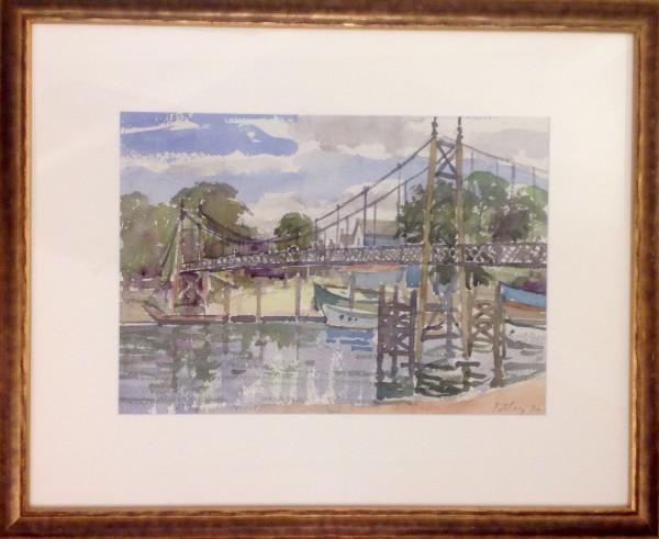 """2393 - Untitled """"bridge"""" by Llewellyn Petley-Jones (1908-1986)"""