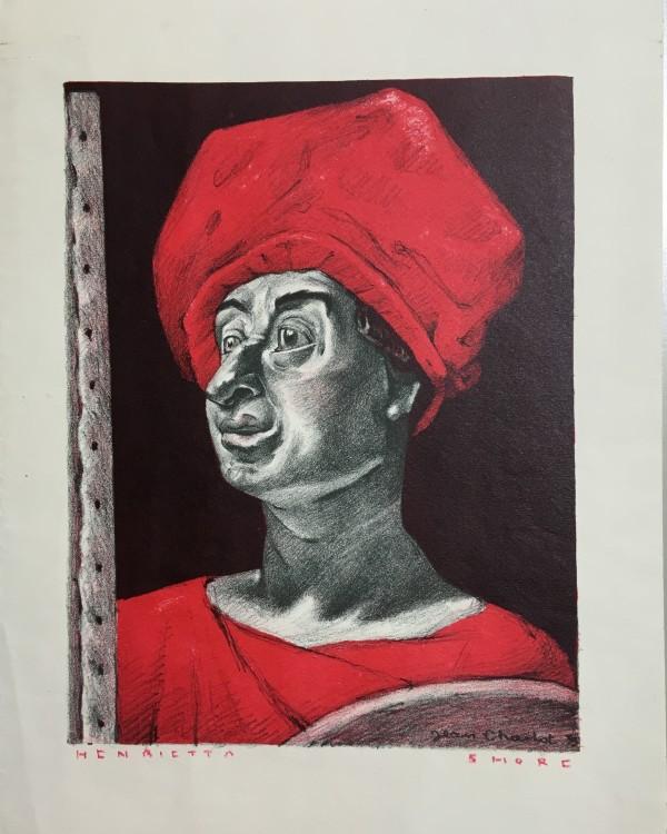 2936 - Henrietta Shore by Louis Henry Jean Charlot ( 1898 - 1979)