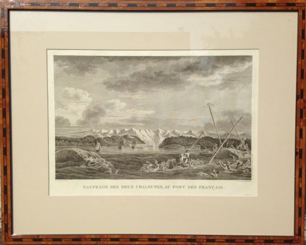 2740 - Naufrage Des Deux Chaloupes, Au Port Des Francais by N. Ozanne